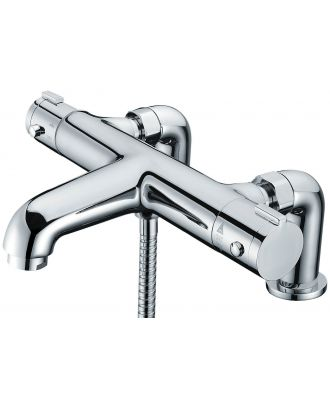 LIBRA Deck Mounted Thermostatic Bath Shower Mixer Tap