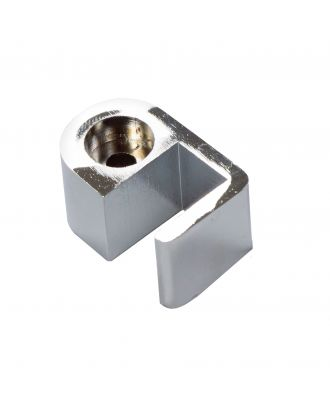 Wetroom Stainless Steel Stopper For 6mm Glass