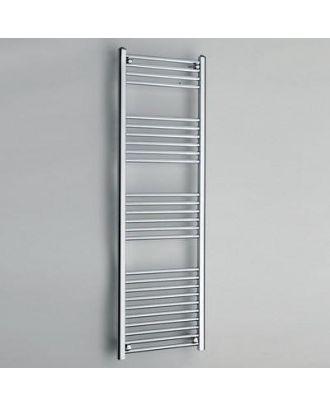 22mm Tube Straight Ladder Towel Rail Chrome 1200mm High X 600mm Wide 1726 BTU's