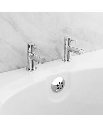 Febia Traditional Bath Hot and Cold Taps