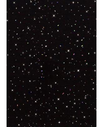 Atosh PVC Panel Ceiling Black Galaxy Cladding 250mm X 2700mm X 5mm (Pack Of 8)