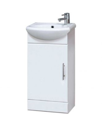 Marovo 400mm Vanity Basin Unit White