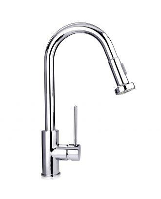 Cosmo Kitchen Sink Mono Mixer Tap Chrome