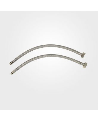 """Flexible Tap Tails 10mm x 1/2"""" x 350mm (2 Pack)"""