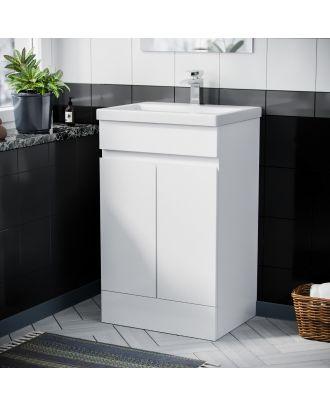 Rizzo 500mm Basin Vanity Unit White