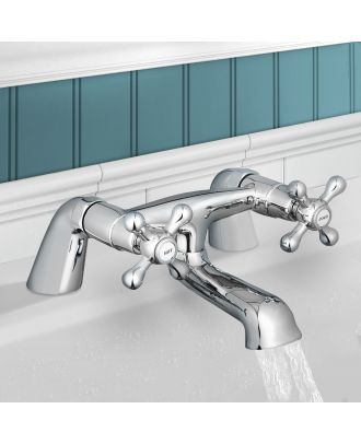 Victorian Traditional Bath Filler Tap