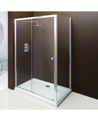 Merlyn Bathroom Modern Framed Shower Enclosure Sliderdoor 1100 X 1850mm