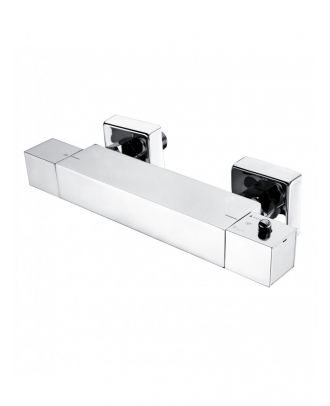 Thermostatic Shower Bar Mixer Valve & Slider Rail Handset