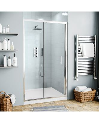 Jupiter 1100mm Shower Enclosure Sliding Door