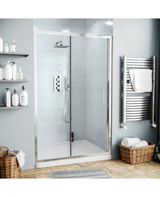 Jupiter 1200mm Shower Enclosure Sliding Door