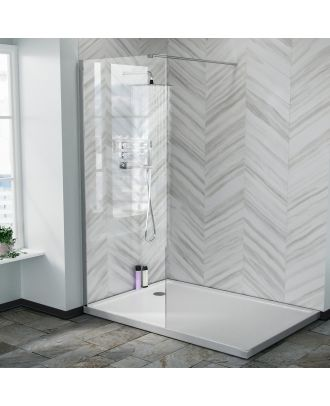 Lincoln 800 mm Walk in Wet Room Enclosure