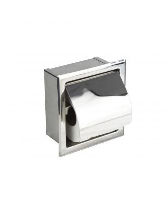 Single Concealed Toilet Roll Holder