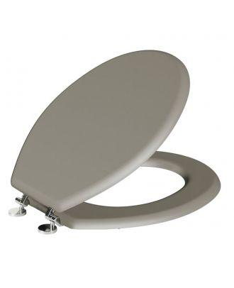 Girvana Classic Oval Shaped Stone Grey Toilet Seat