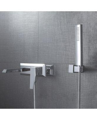 Rainton Bathroom Exposed Thermostatic Mixer Shower Tap & Handset