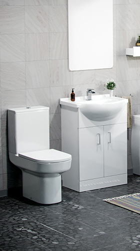 Guide: Toilet and Basin