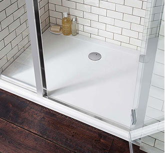 View Shower Tray and Wastes