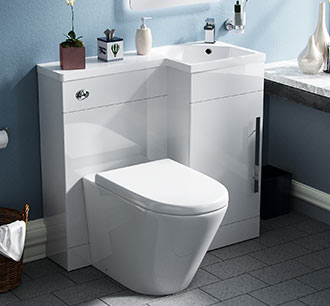 View Vanity and Toilet Combination Units
